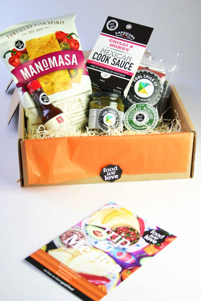 De delicatessen in de FoodWeLove box